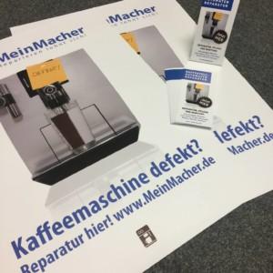 Werbemittel Starterpaket Kaffeevollautomaten