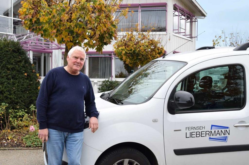 Gerhard Liebermann ist Techniker und möchte auch Techniker bleiben
